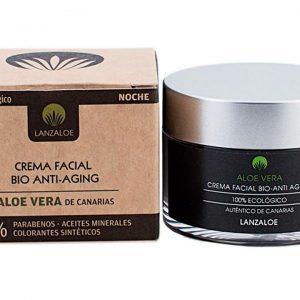 crema facial bio anti aging noche aloe vera